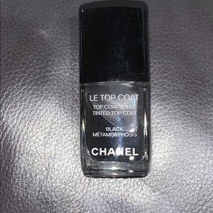 Chanel Le Top Coat Black Metamorphosis